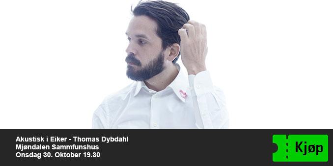 Akustisk i Eiker - Thomas Dybdahl