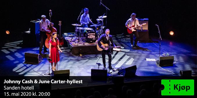 Avlyst - Johnny Cash & June Carter-hyllest på Sanden Hotell
